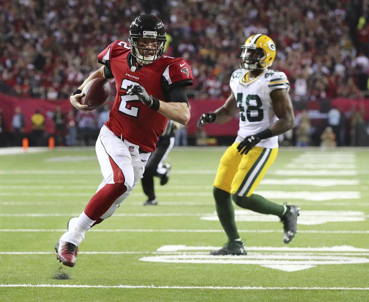 Packers Matt Ryan Atlanta Falcons dominate Green Bay in 44 21