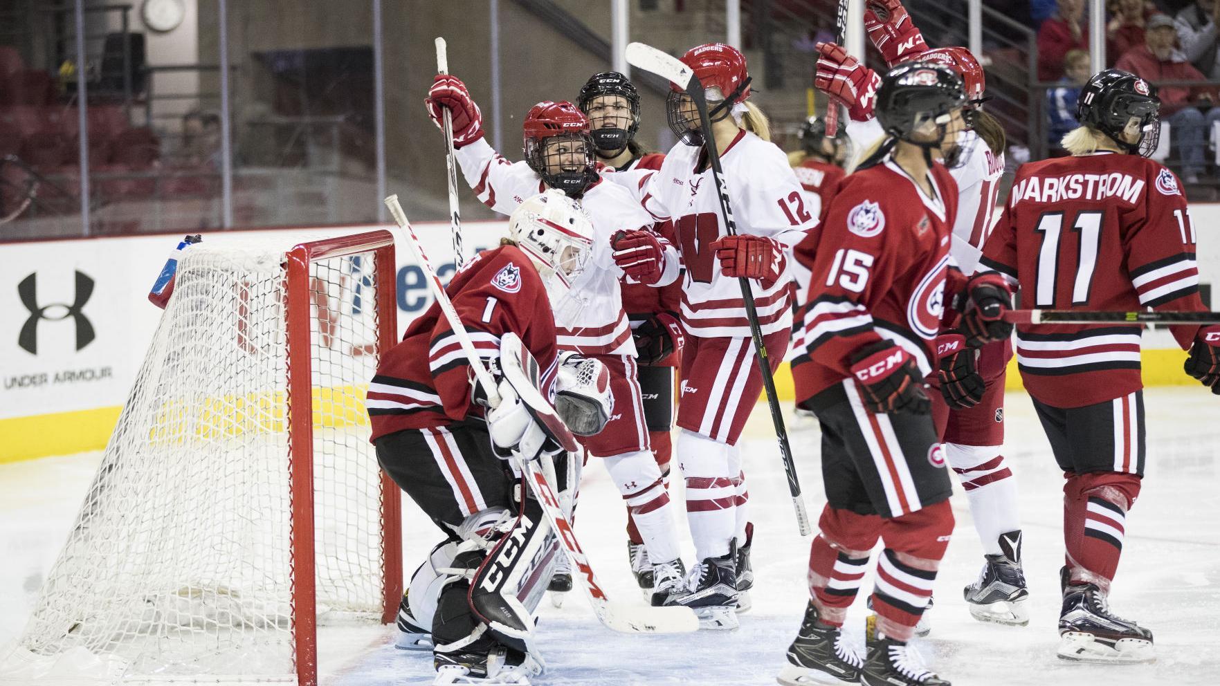 Badgers women's hockey: Claudia Kepler, Baylee Wellhausen named Wisconsin's 2017-18 captains