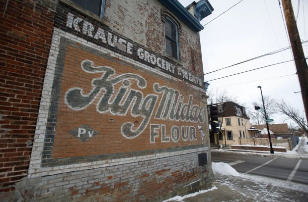 Historic Gallagher Tent And Awning Ghost Sign Disappears