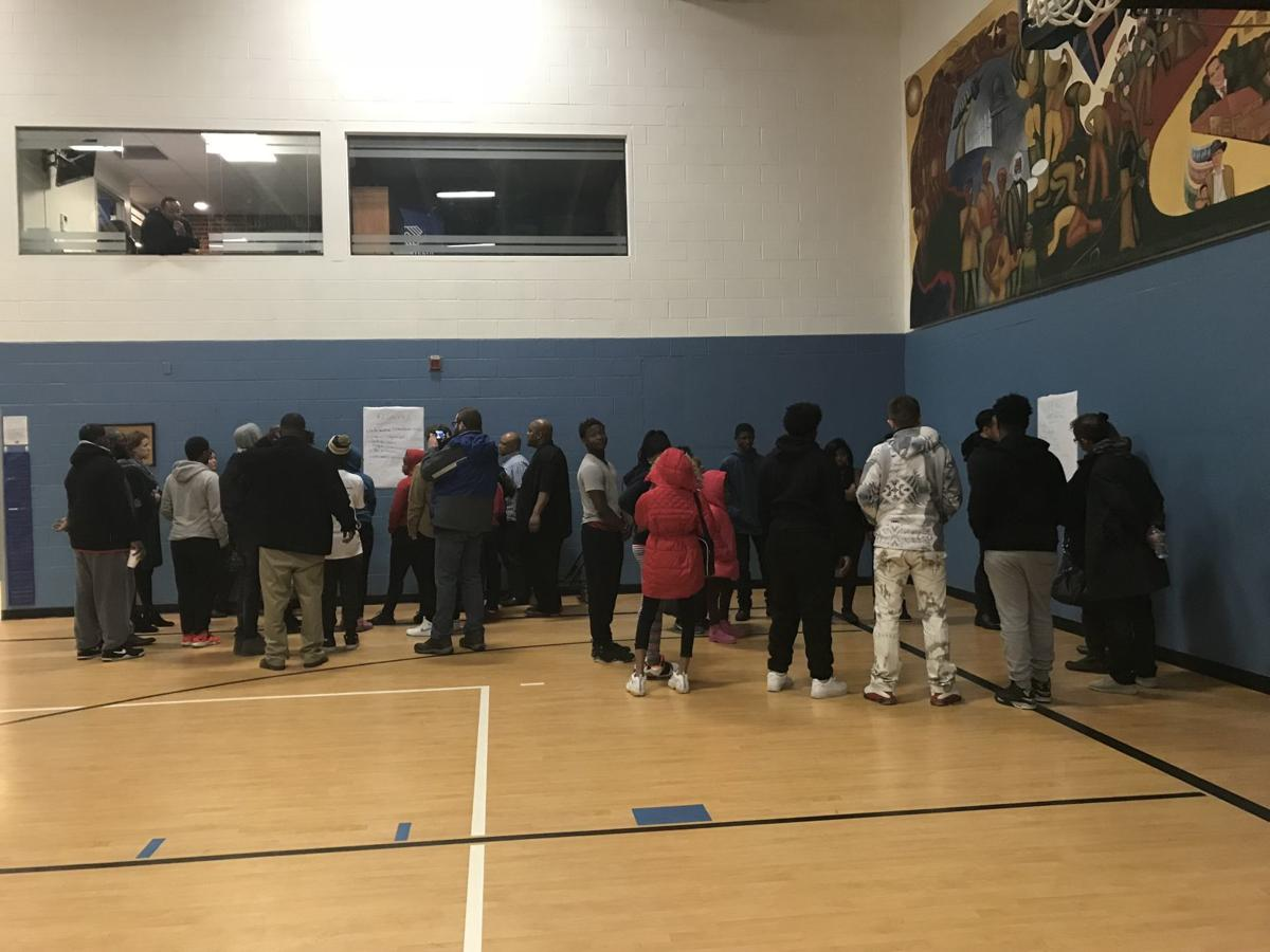 Boys and girls club town hall