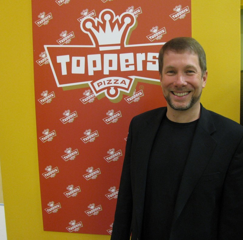 Executive qa toppers pizza founder scott gittrich on pie appeal scott gittrich toppers pizza junglespirit Image collections