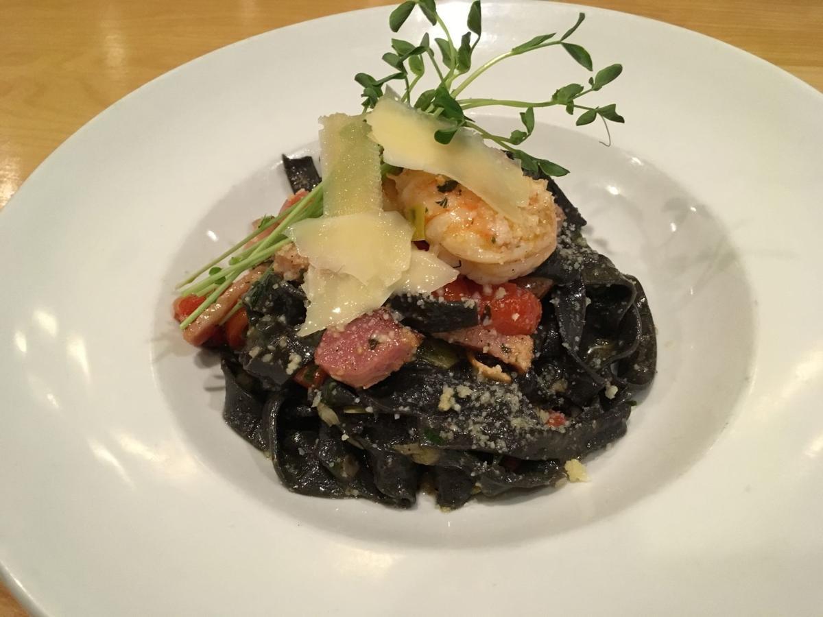 Liliana's black pasta