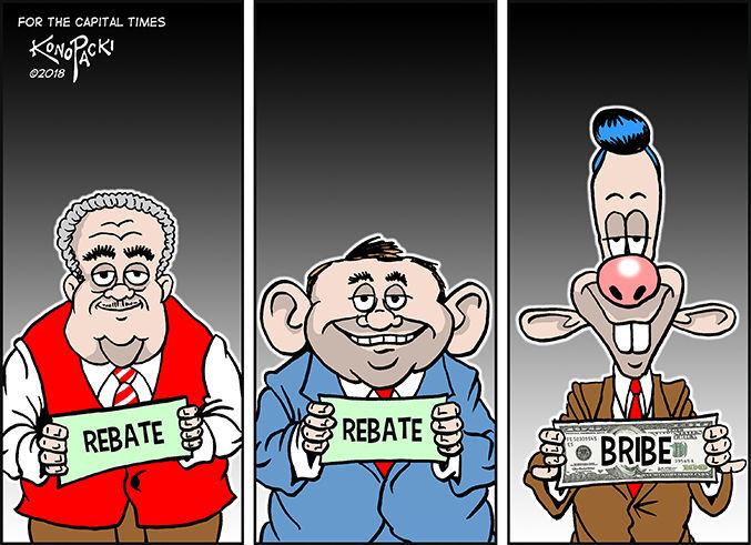 Editorial cartoon 2/7/18