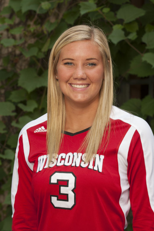Badgers volleyball: Courtney Thomas excels in new role ... Uw Badgers