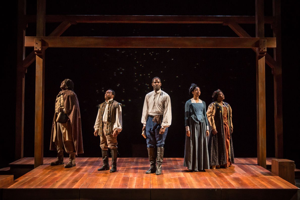 Theater review: A timid play about courageous actors, APT ...
