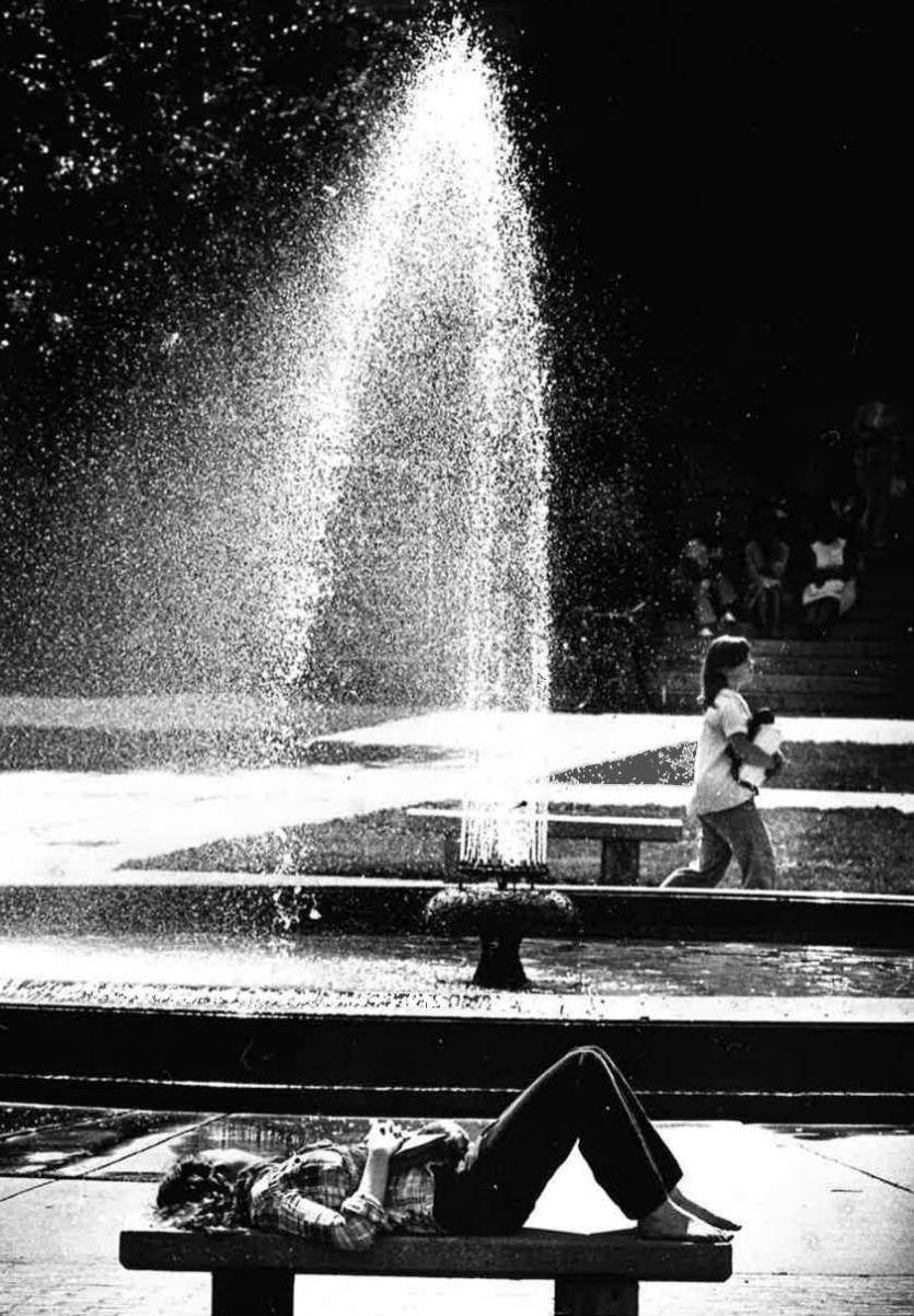 Hagenah fountain