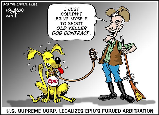 Yellow Dog Konopacki cartoon