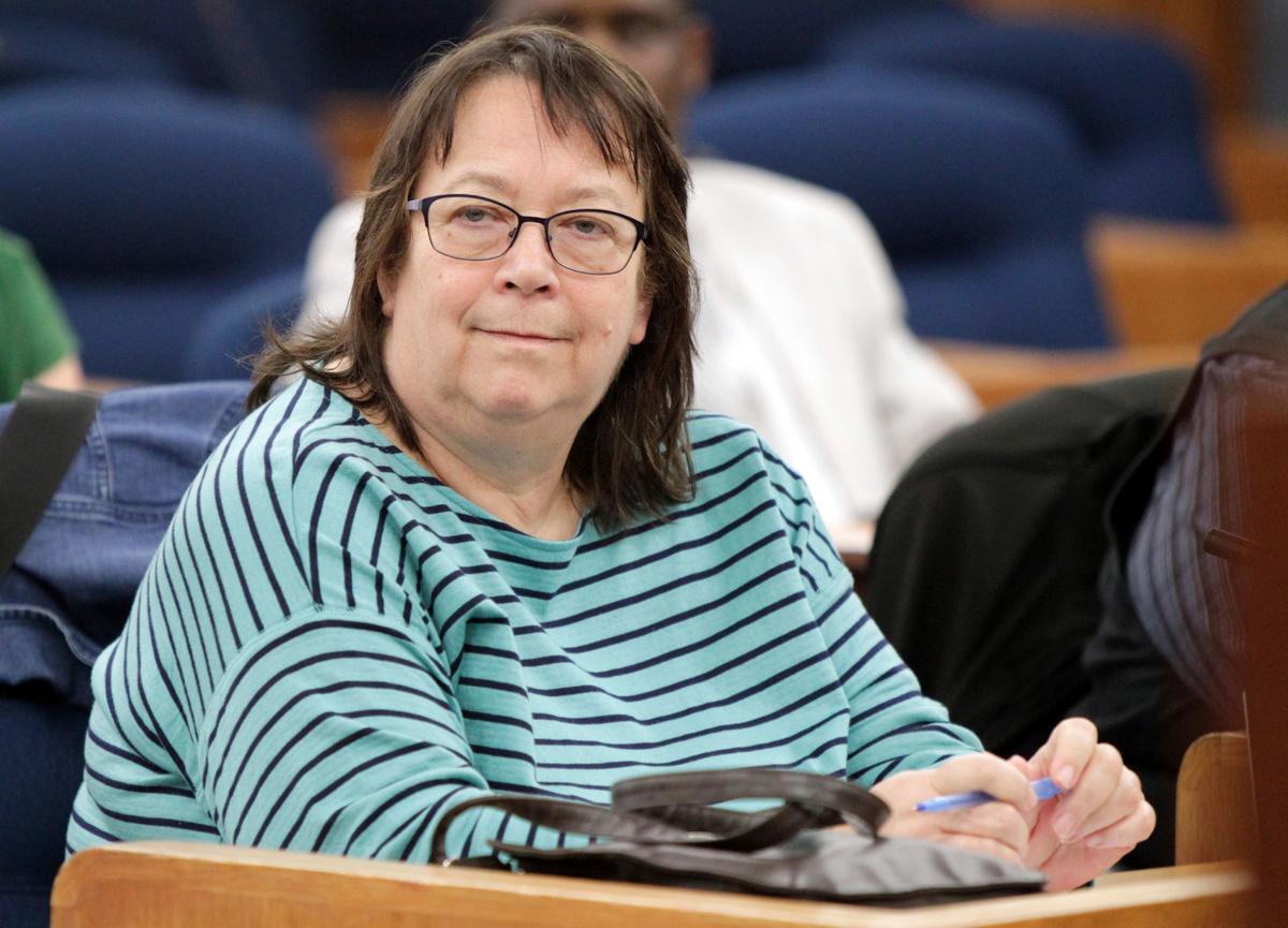 City Council president Marsha Rummel