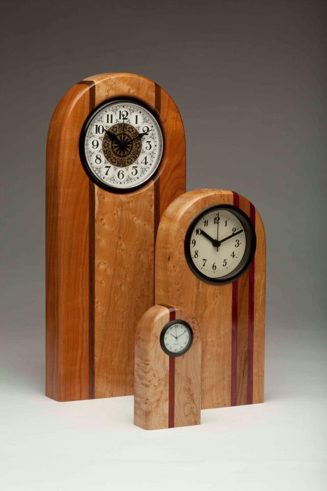 Up the Hill Woodworks -- clocks