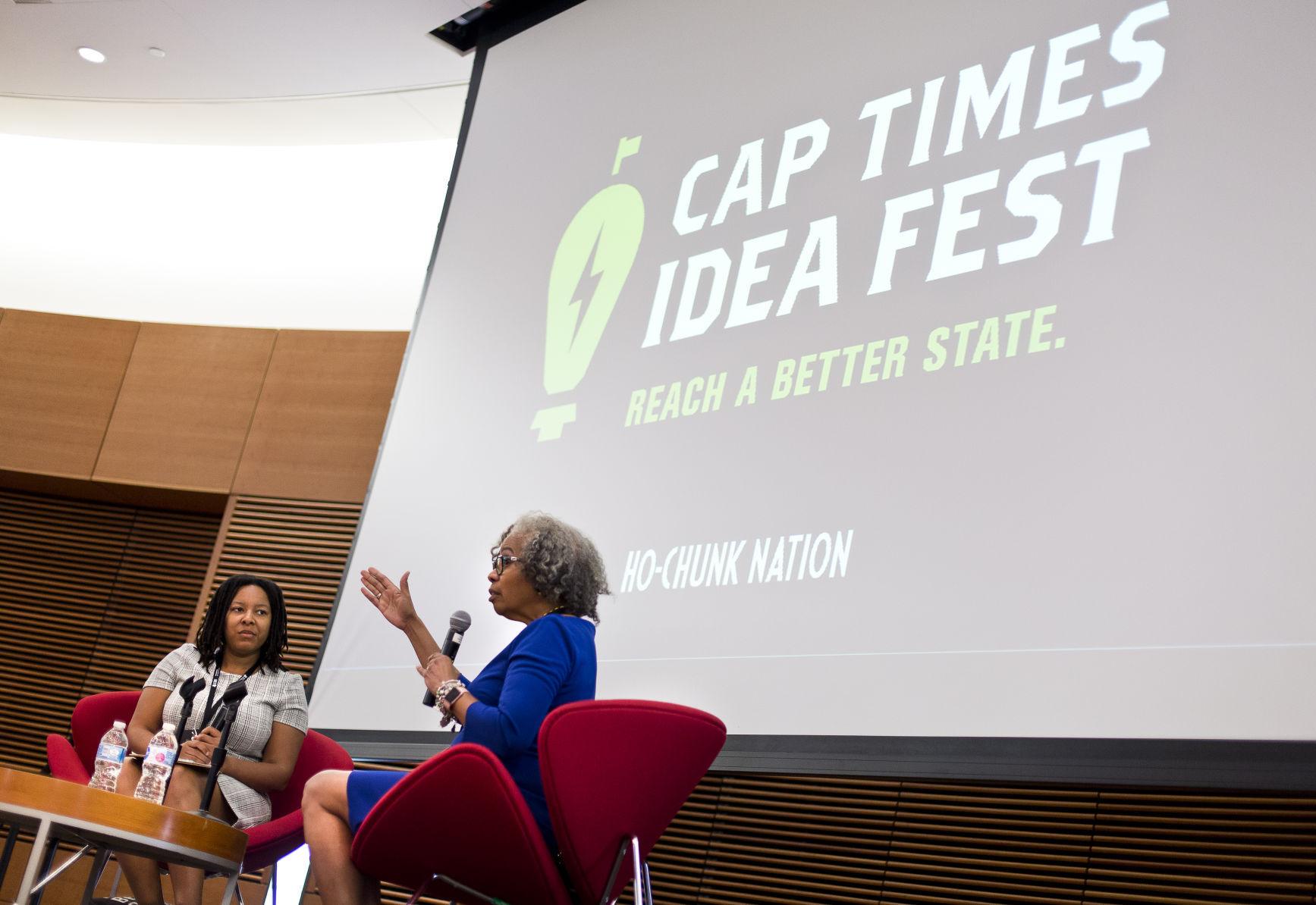 Cap Times Idea Fest Gloria Ladson Billings says