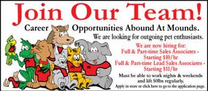 Career Opportunities Abound At Mounds!