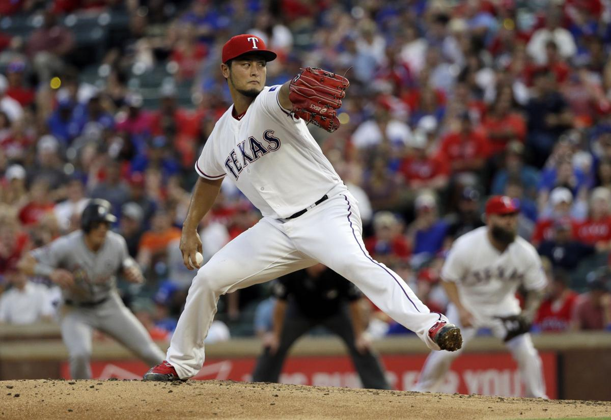 Yu Darvish, AP photo