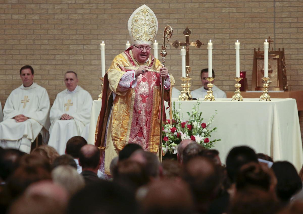 Morlino at Mass