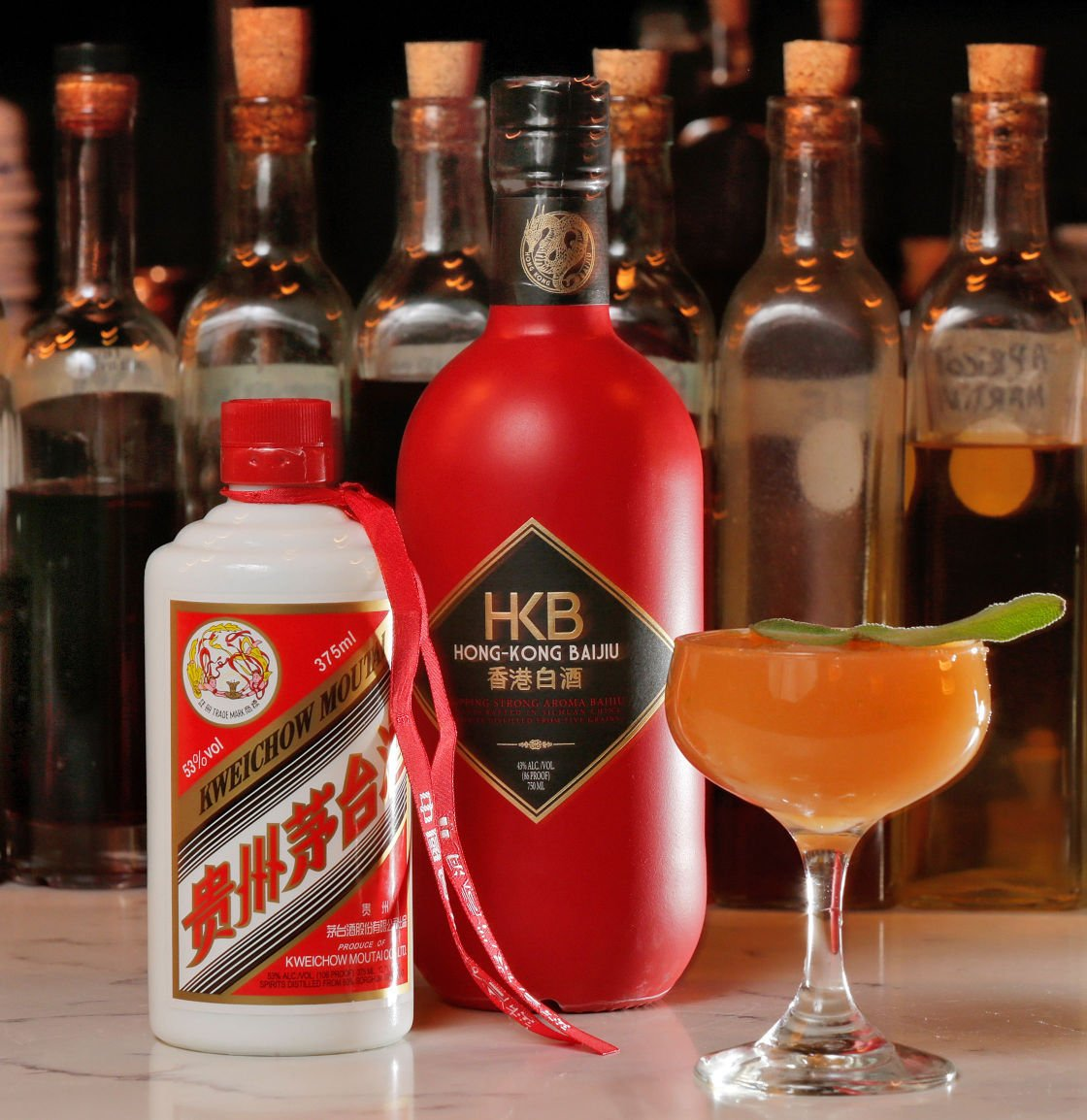 Chinese liquor baijiu takes a shot at the us cocktail for Cocktail oriental