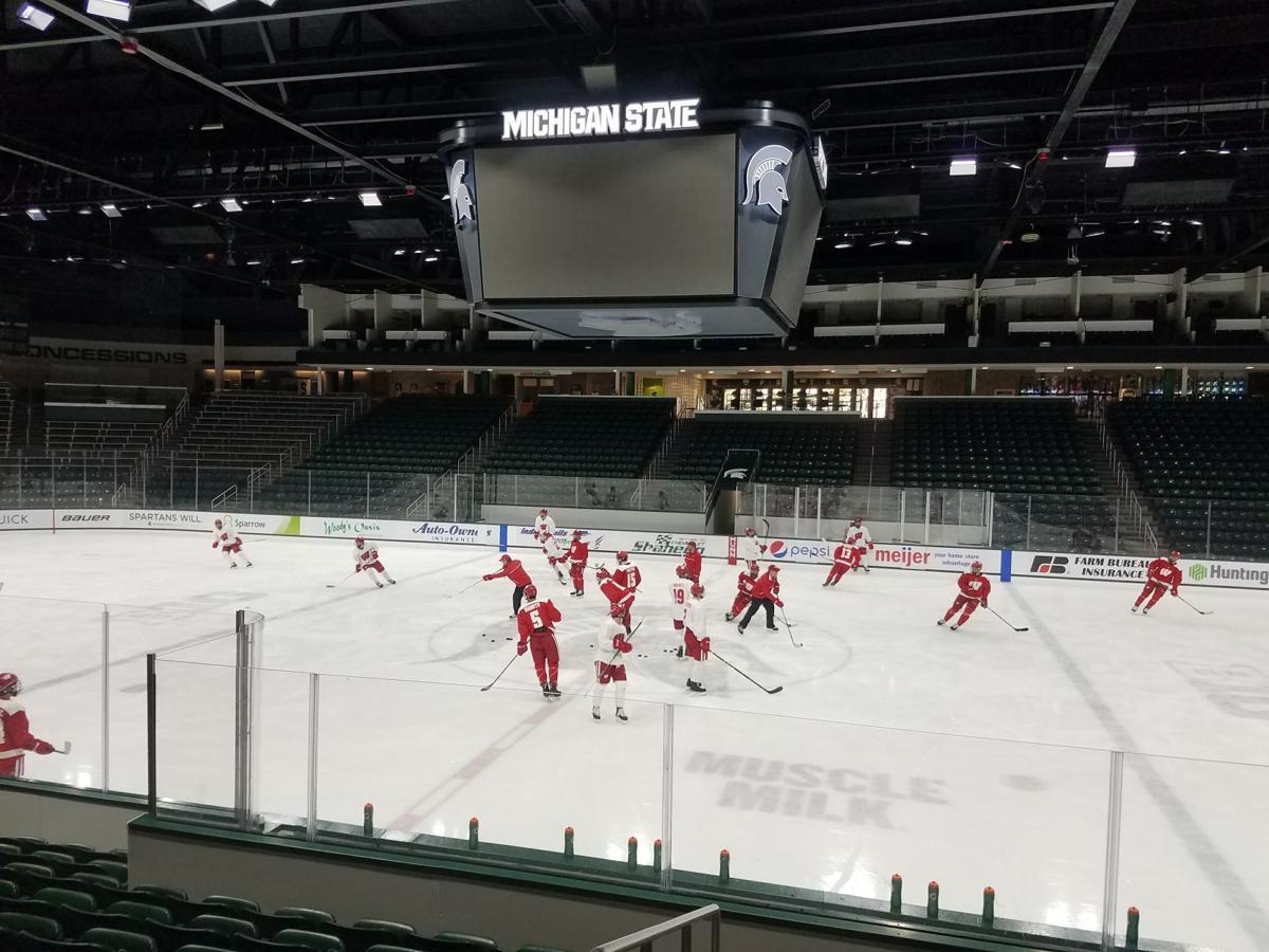 Morning skate at Michigan State