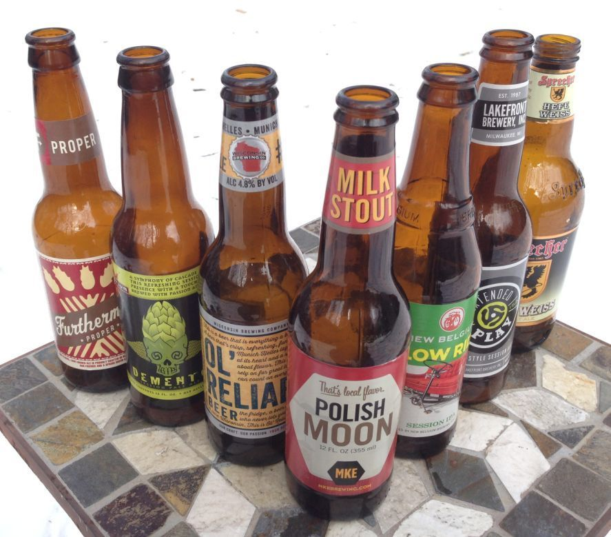 Seven session beers