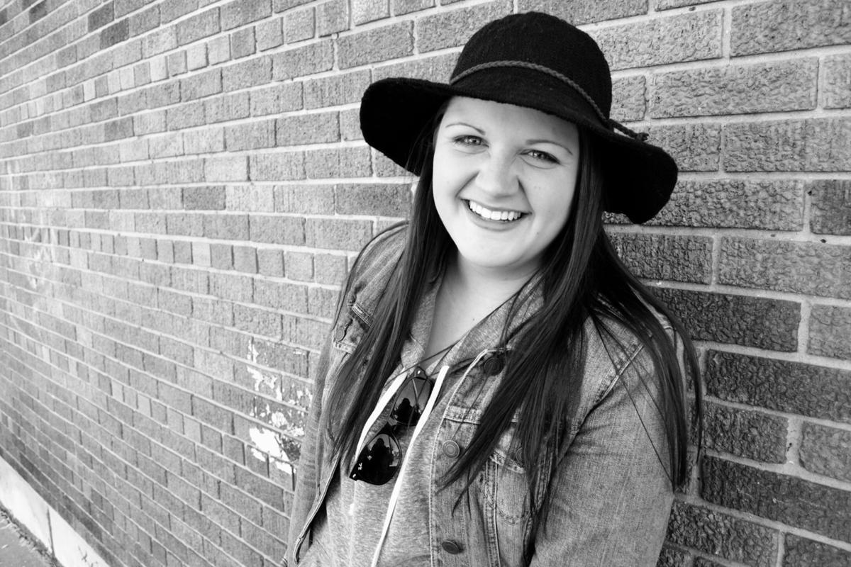 Bailey Nachreiner-Mackesey will graduate this month