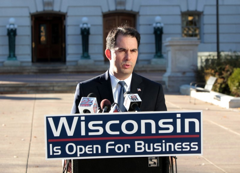 Scott Walker wisconsin is open for business 11/3/10