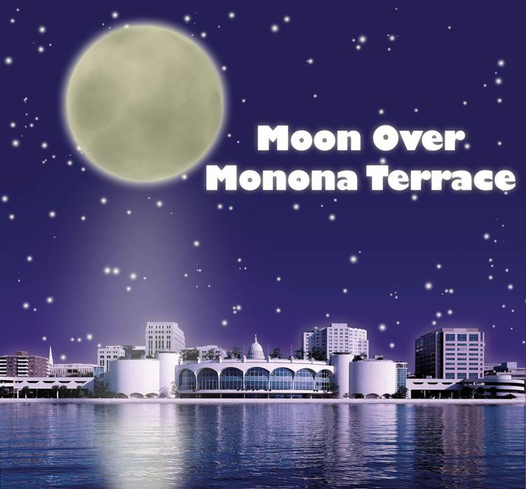 Moon over Monona Terrace MONONA TERRACE COMMUNITY & CONVENTION CENTER