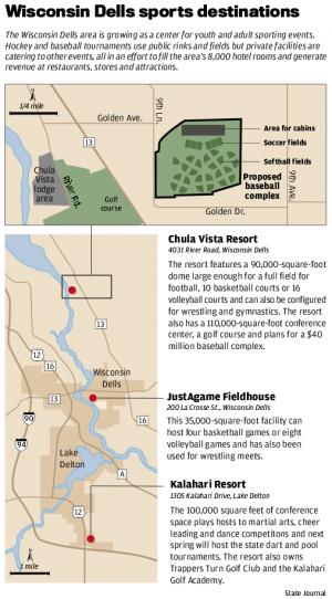 Chula Vista Resort Wisconsin Dells Wi United States: A New Ballgame: Wisconsin Dells Evolving Into Destination