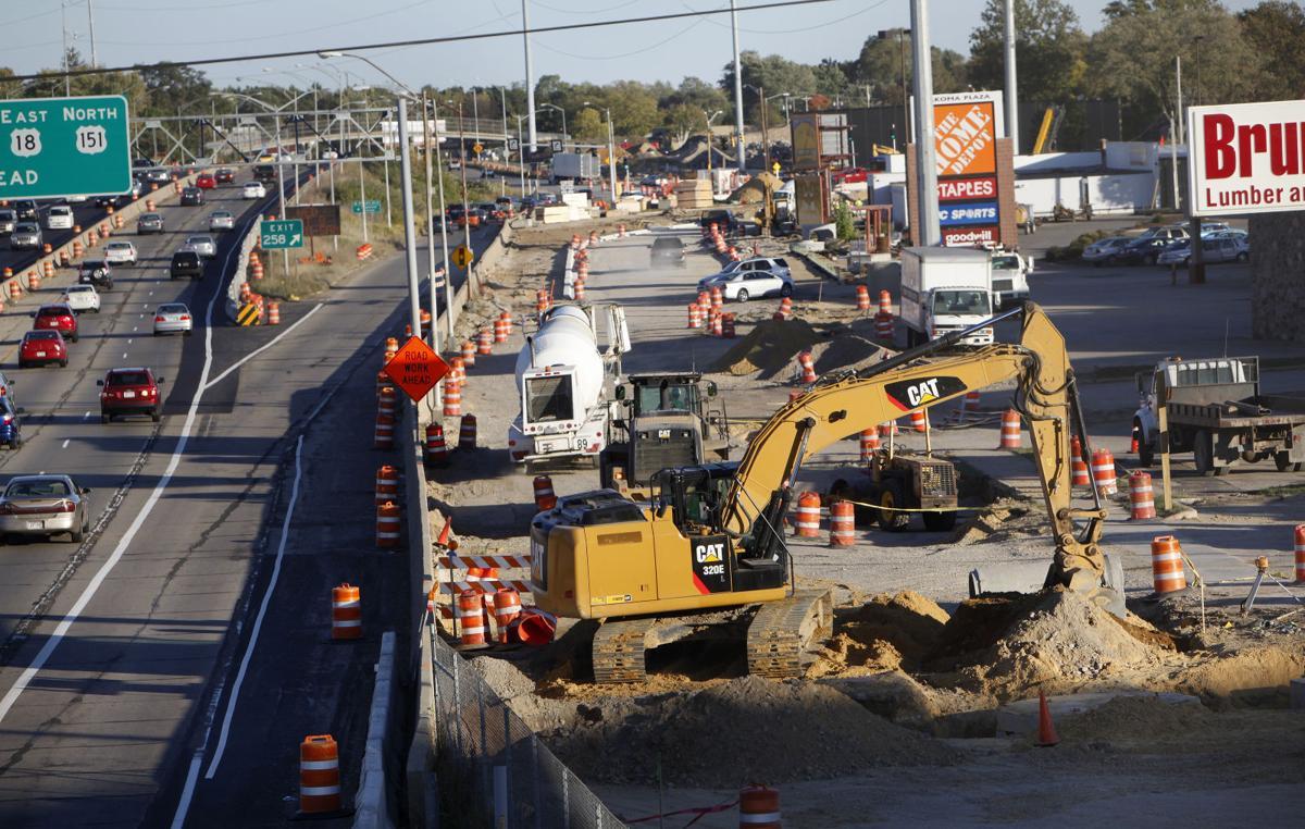 Verona Road under construction (copy)