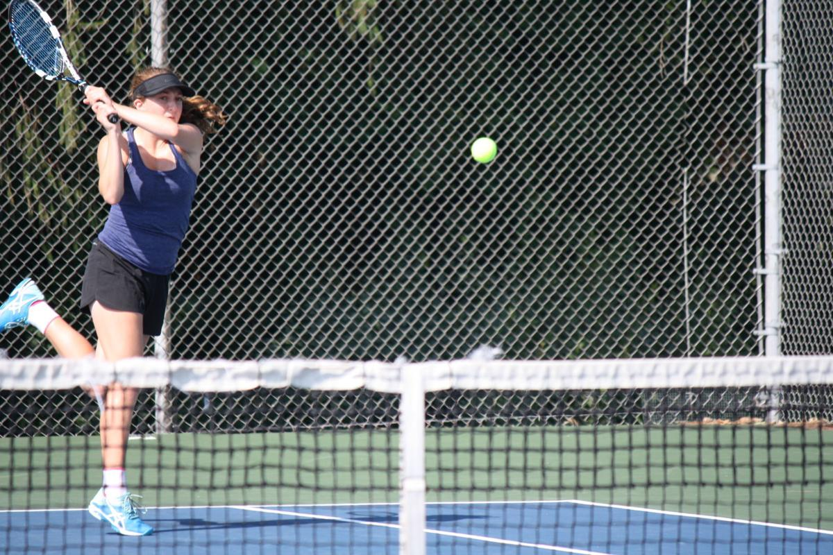 Prep girls tennis photo: Madison West's Laura Nicholas