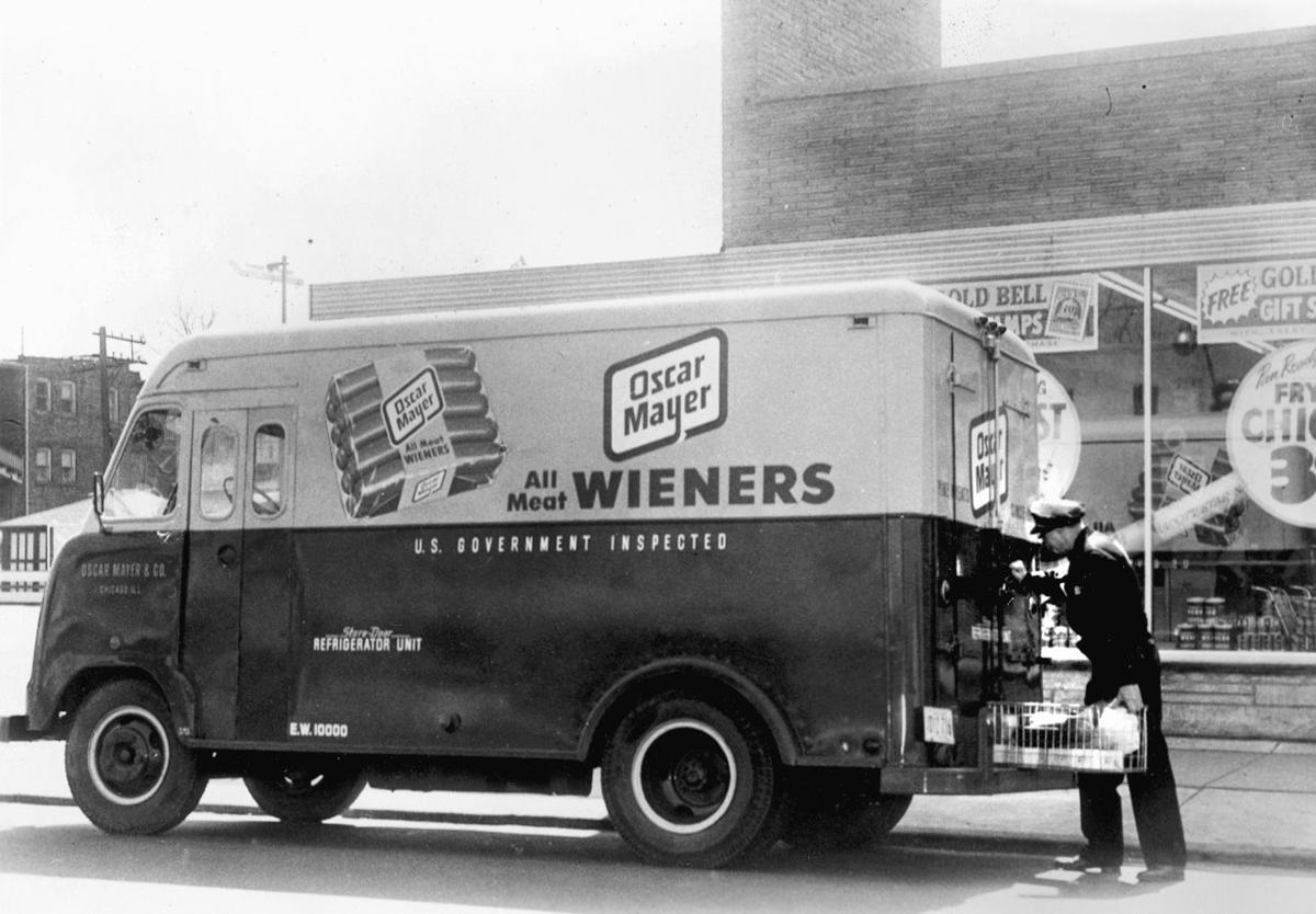 Article d353615e 0ce8 55d6 845a 70ebfda609a0 together with 1960 Ford F 500 Box Body Delivery Truck together with 6127959 further General body co furthermore Burger King History. on oscar mayer delivery truck