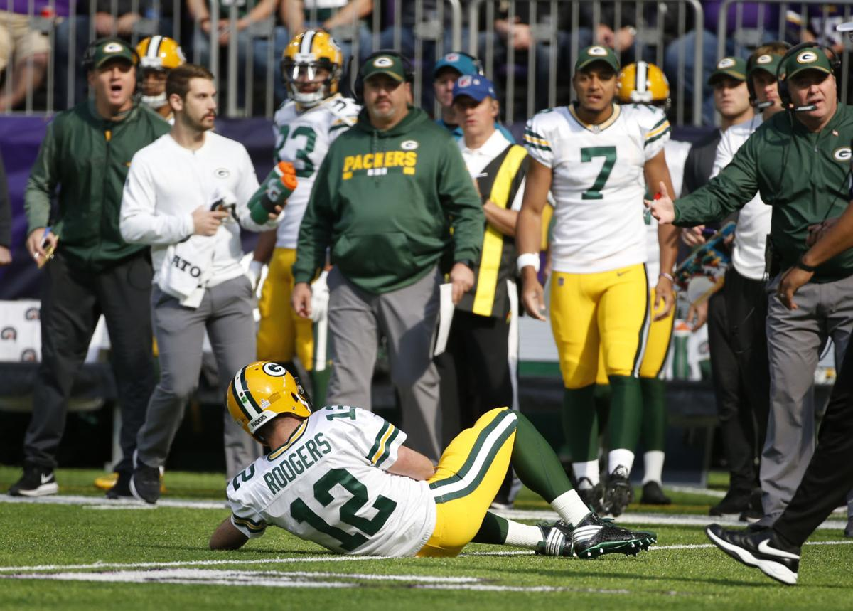 Packers Aaron Rodgers put on IR out at least 8 weeks Anthony