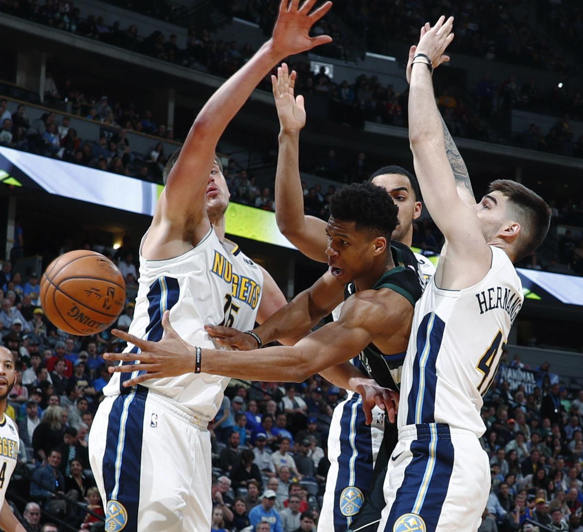 Nuggets Fall In Overtime To Wizards: Bucks Fall Apart After Giannis Antetokounmpo Fouls Out
