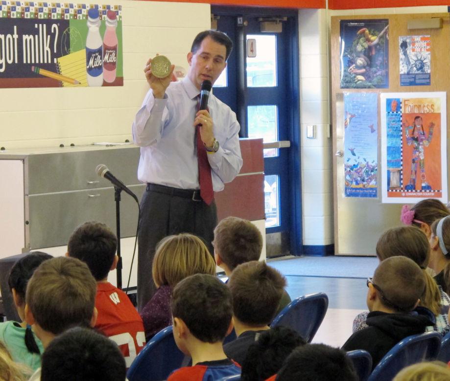 Walker in a school file photo