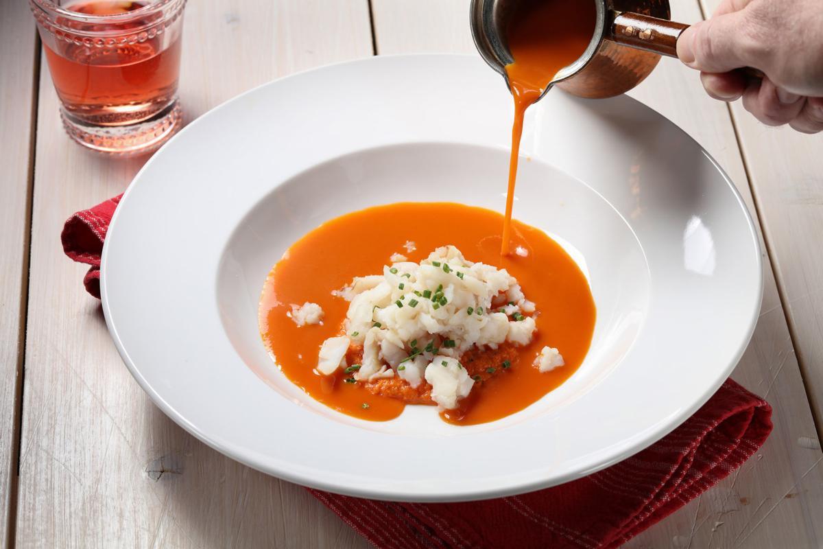 Nicoise-style soup