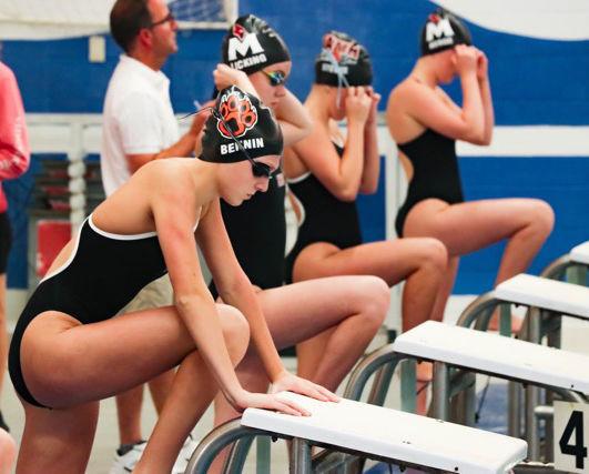 Prep girls swimming photo: Verona/Mount Horeb junior Grace Bennin