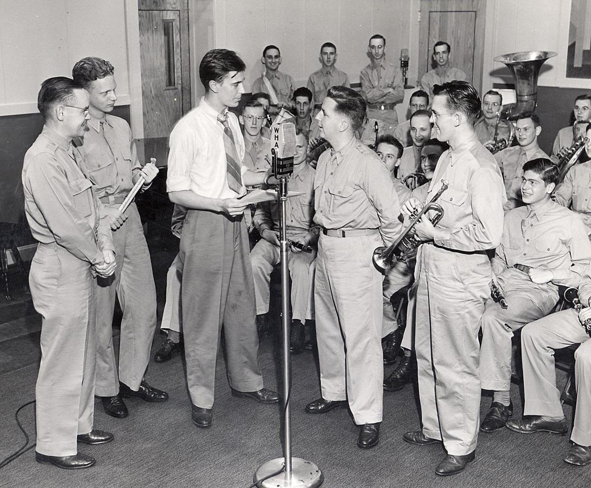 ROTC performs at WPR archive