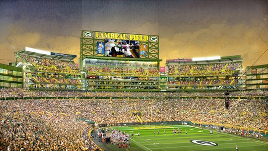 packers stadium expansion south end zone seats