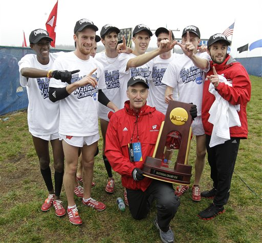 Mick Byrne, UW cross country at NCAA championships