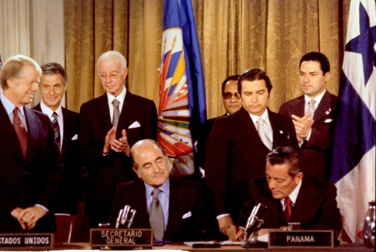 jimmy carter prioritizes the panama canal treaties during his presidency Carter where were the accomplishments that jimmy carter had that jimmy carter had during his presidency as president:\n \n panama canal treaties.