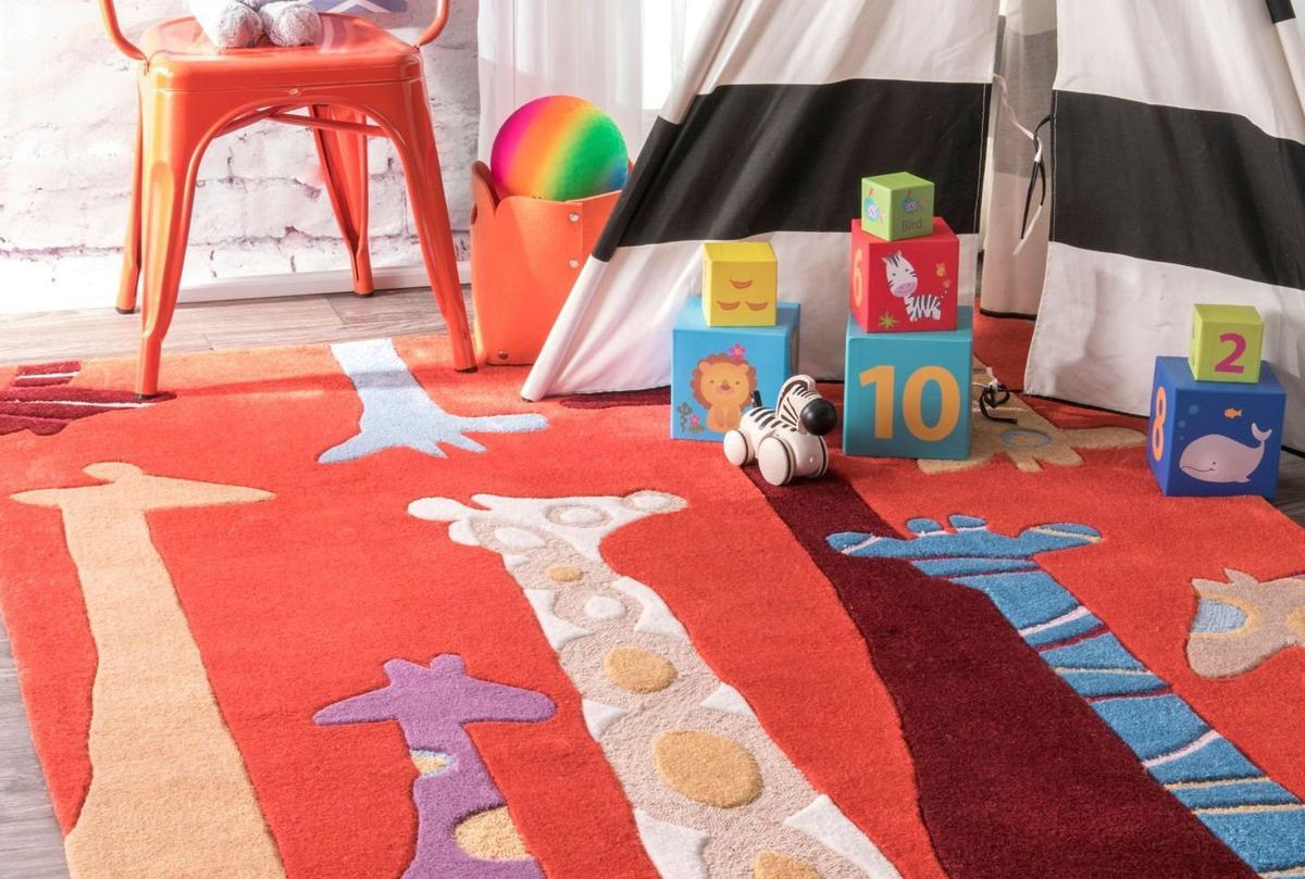 Easy flooring ideas for a kids 39 playroom home and garden for Playroom floor ideas
