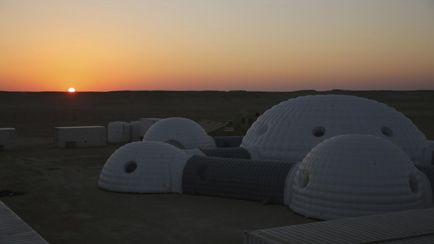 This isn't Mars. It's Oman