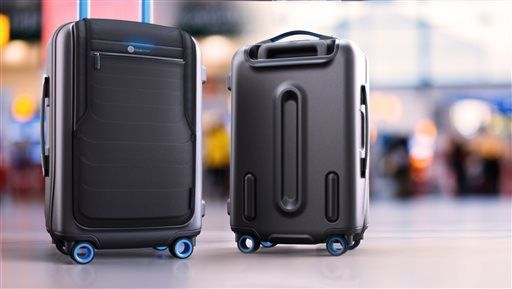 Gift Guide, travel, Bluesmart luggage