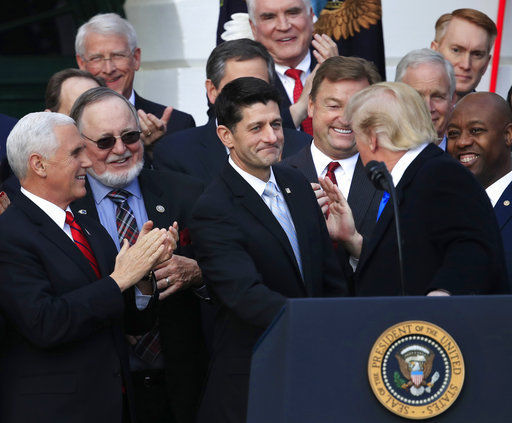 President Trump and Paul Ryan