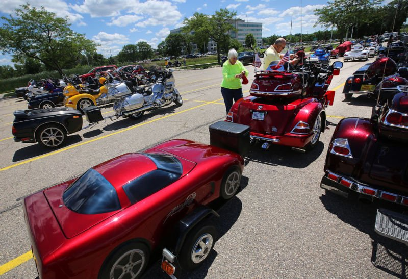 Gold Wing riders come for convention, stay for camaraderie