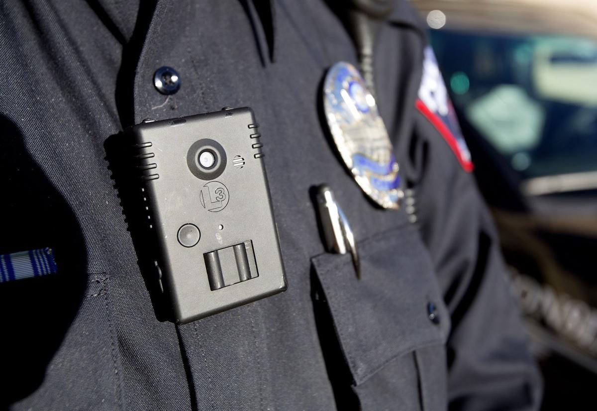 Body camera on UW-Madison police