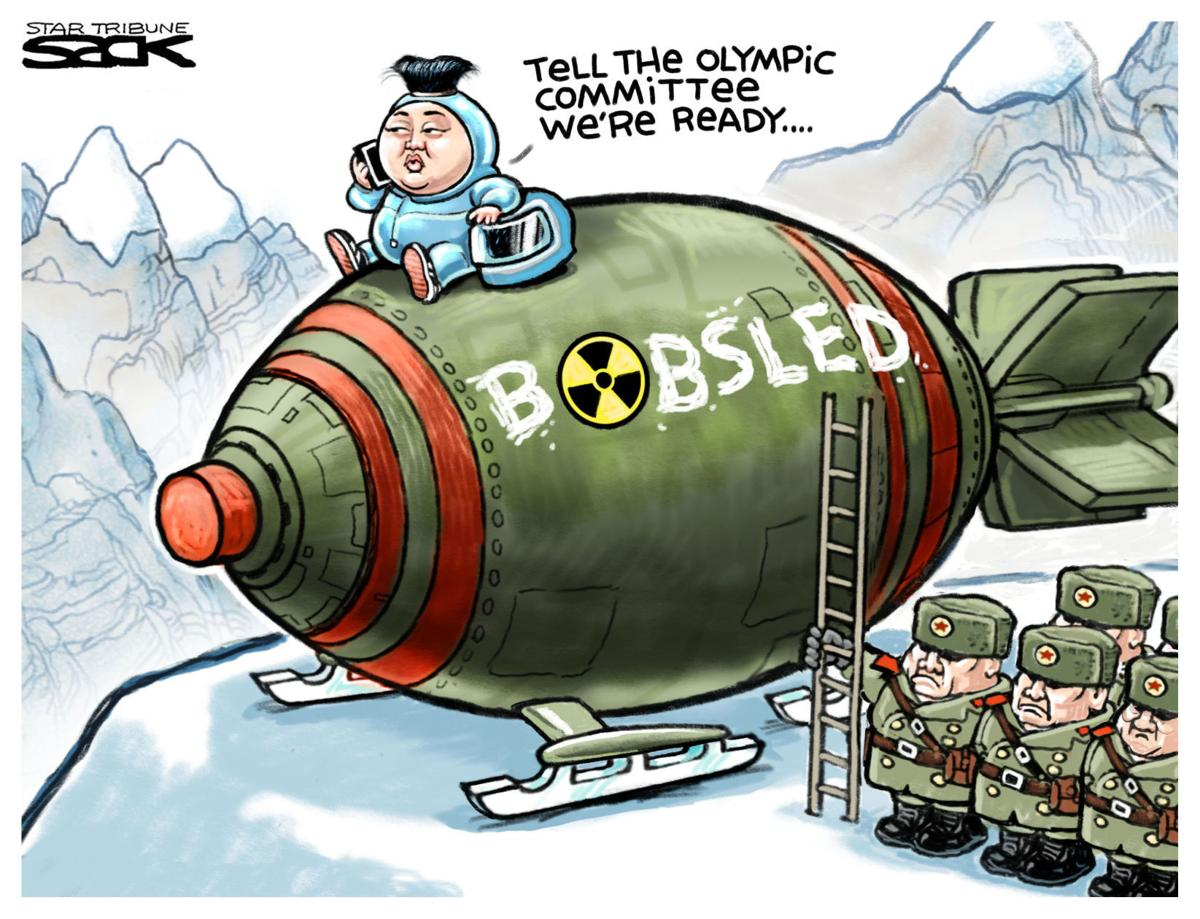 SNIPPITS AND SNAPPITS: 01/2013 |Current Political Cartoons North Korea