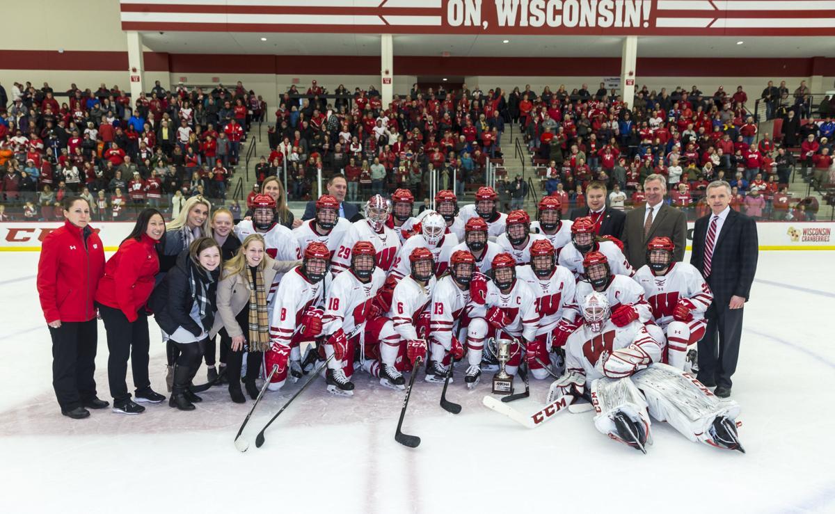 Badgers women's hockey team caps season sweep of rival ...