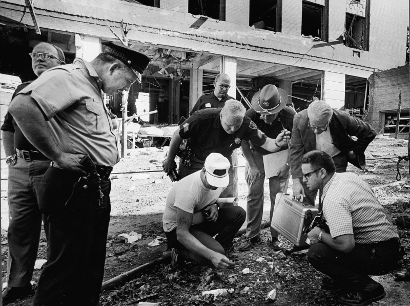 Investigation into Sterling Hall bombing