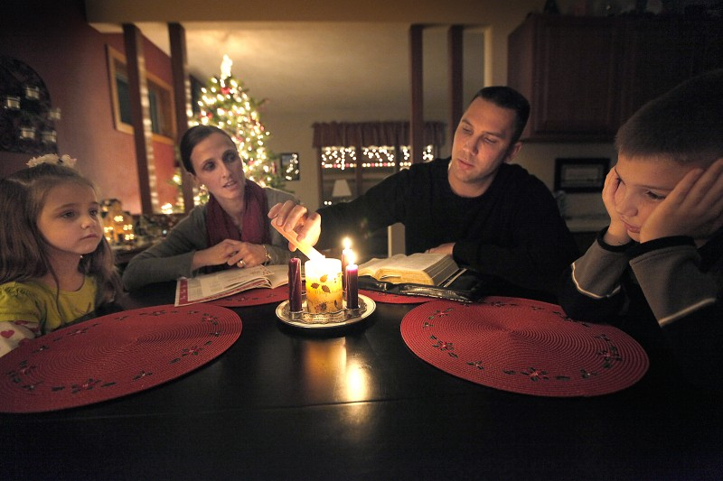 Keeping Christ in Christmas, Steve Hudson, Maria Hudson, Eliza Hudson, Samuel Hudson