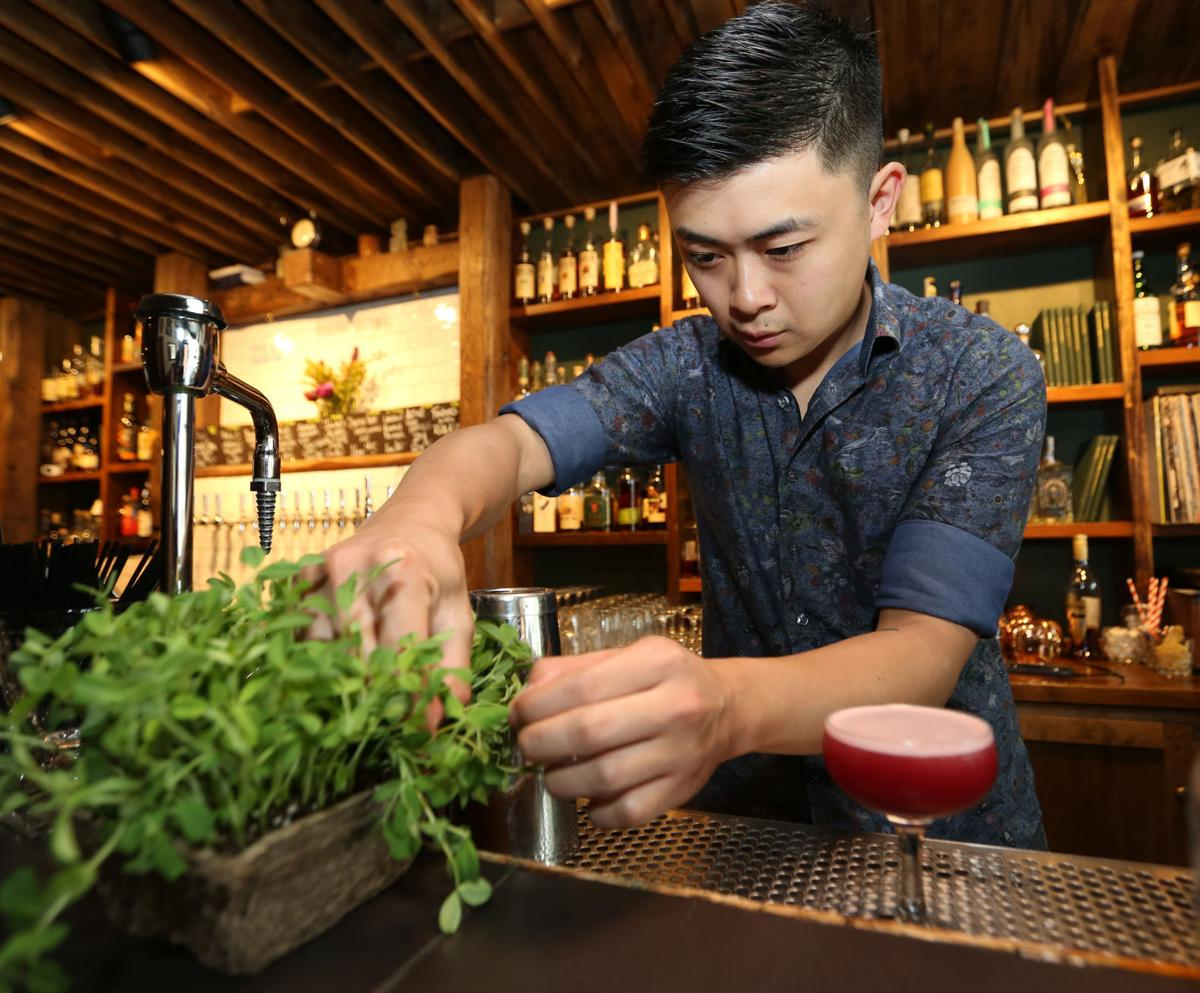 The Corner Table Podcast Robin Room Bartender Mike Lu Is
