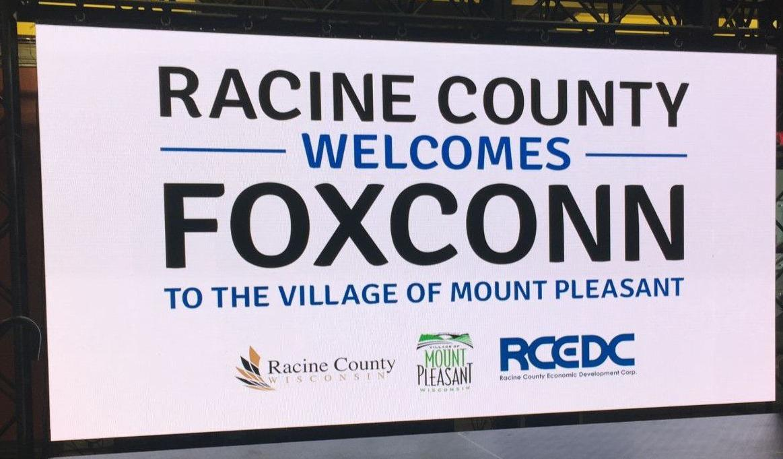 Racine County welcomes Foxconn (copy)