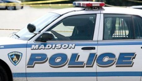 Madison Police squad car tight crop