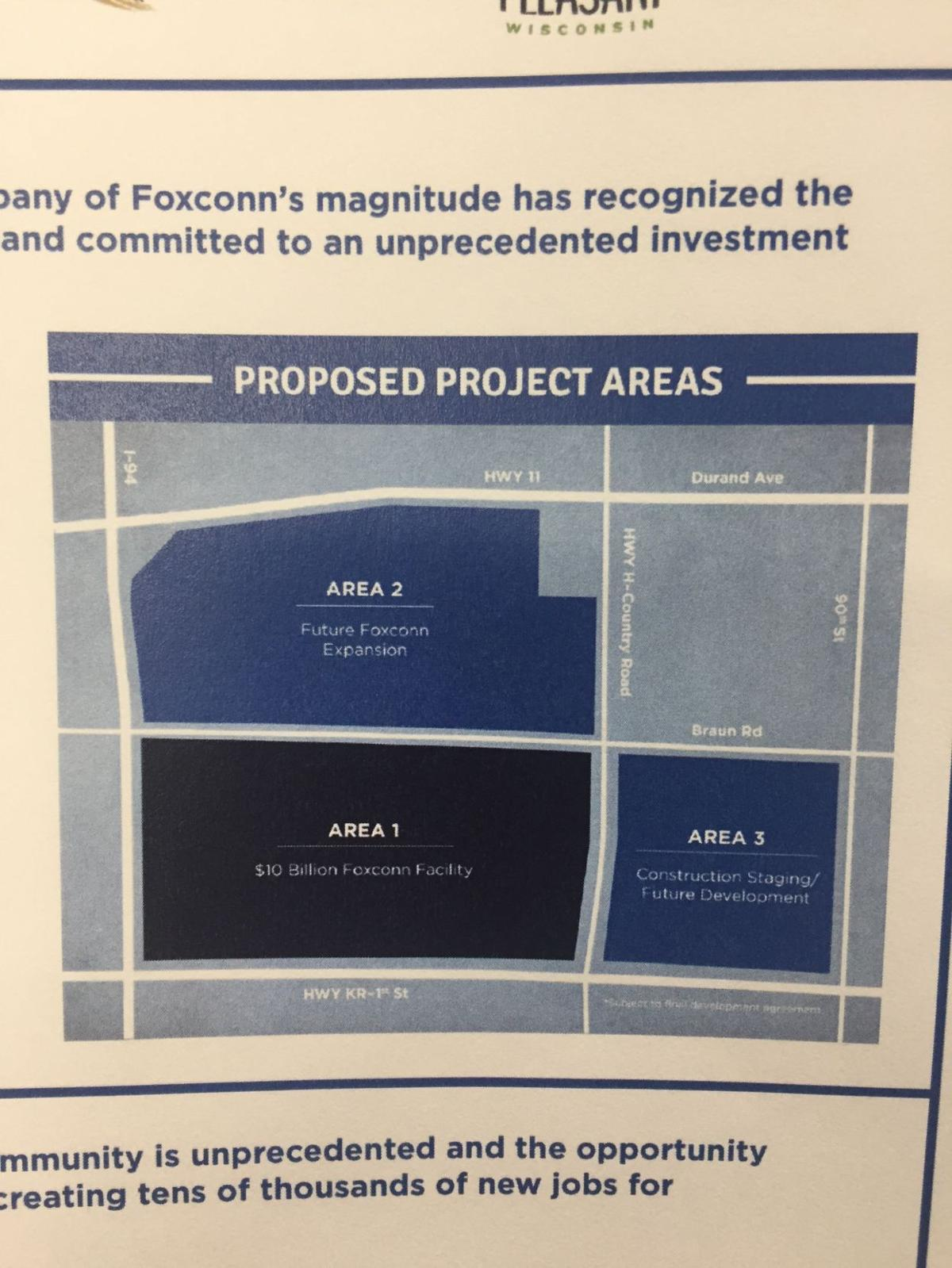 Proposed Foxconn site